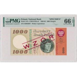 1.000 złotych 1965 - WZÓR kolekcjonerski - S