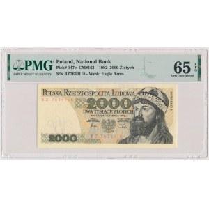 2.000 złotych 1982 - BZ