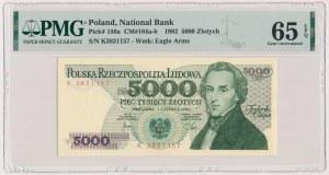 5.000 złotych 1982 - K