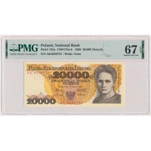 20.000 złotych 1989 - AK