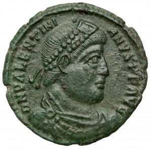 Walentynian I (364-375 n.e.) Follis, Siscia
