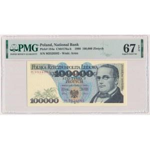 100.000 złotych 1990 - M