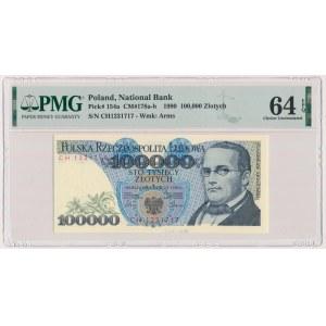 100.000 złotych 1990 - CH