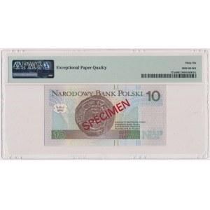 10 złotych 1994 - WZÓR - AA 0000000 - Nr 070