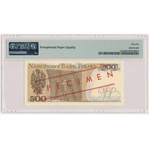 500 złotych 1982 - WZÓR - CD 0000000 - No.0148