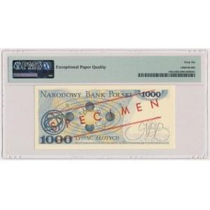 1.000 złotych 1982 - WZÓR - DC 0000000 - No.0148