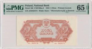 2 złote 1944 ...owym - An