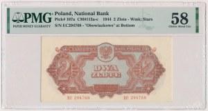 2 złote 1944 ...owe - EC