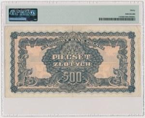 500 złotych 1944 ...owym - AE