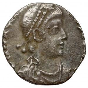 Magnus Maksymus (?) (387-388 n.e.) Aquileia, Silikwa - mocno obcięta
