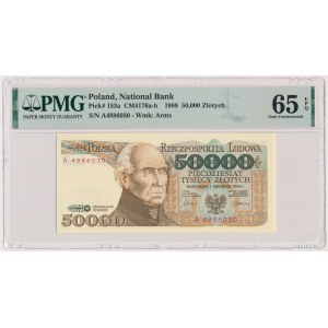 50.000 złotych 1989 - A