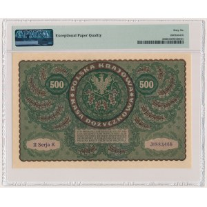 500 mkp 1919 - II Serja K