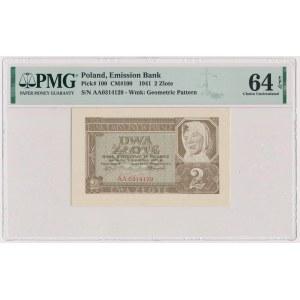 2 złote 1941 - AA