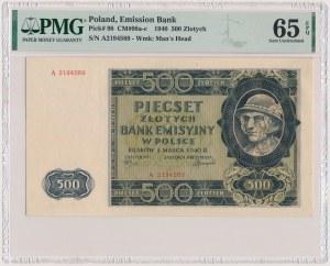 500 złotych 1940 - A