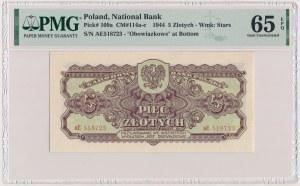 5 złotych 1944 ...owe - aE