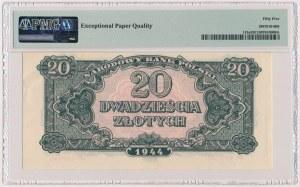 20 złotych 1944 ...owe - EH