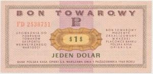 PEWEX 1 dolar 1969 - FD