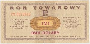 PEWEX 2 dolary 1969 - FM