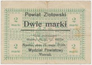 Sępólno, 2 marki 1920