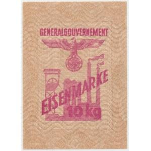 Generalne Gubernatorstwo, Eisenmarke 10 kg