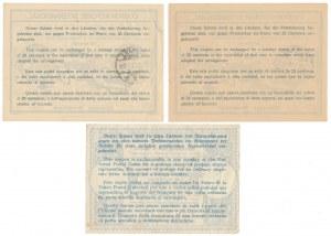 COUPON-RESPONSE INTERNATIONAL, Polska i Niemcy (3szt)
