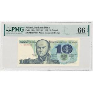 10 złotych 1982 - M