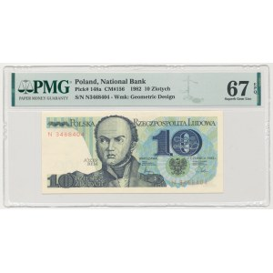 10 złotych 1982 - N