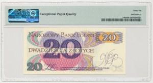 20 złotych 1982 - U