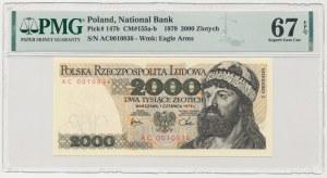 2000 złotych 1979 - AC