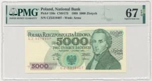 5.000 złotych 1988 - CZ