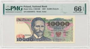 10.000 złotych 1987 - E