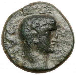Tyberiusz (14-37 n.e.) AE 18, Macedonia, Philippi
