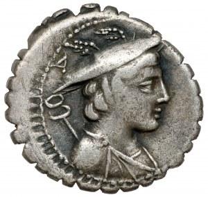 Republika, C. Mamil Limetanus C.f (82 p.n.e.) Denar Serratus