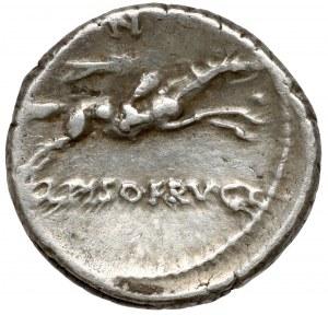 Republika, L. Calpurnius Piso Frugi (90 p.n.e.) Denar
