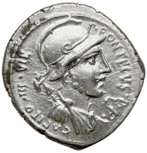 Republika, P. Fonteius P. f. Capito (55 p.n.e.) Denar