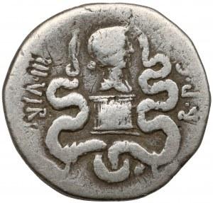 Republika, Marek Antoniusz i Oktawia (40-35 p.n.e.) Jonia, Efez, Cystofor (39 p.n.e.)