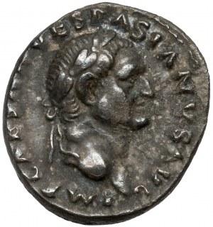 Wespazjan (69-79 n.e.) Denar, Rzym