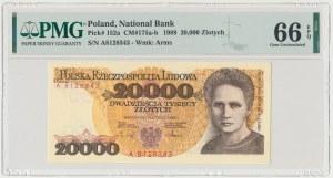 20.000 złotych 1989 - A