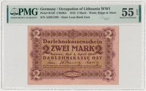 Kowno, 2 marki 1918