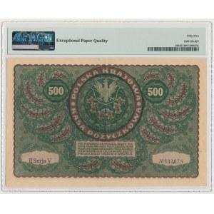 500 mkp 1919 - II Serja V