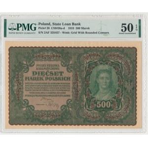 500 mkp 1919 - II Serja AF (Mił.28c)