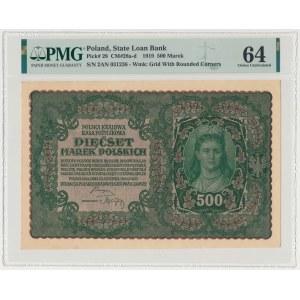 500 mkp 1919 - II Serja AN (Mił.28d)