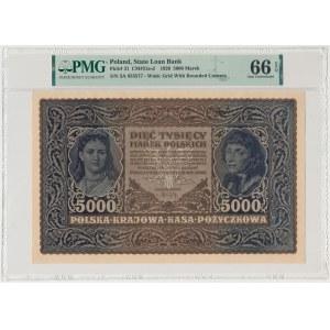 5.000 mkp 1920 - III Serja A