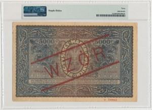 5.000 mkp 1920 - WZÓR - III Serja A