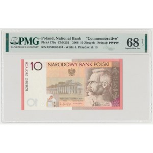 10 złotych 2008 Józef Piłsudski - ON 0033403