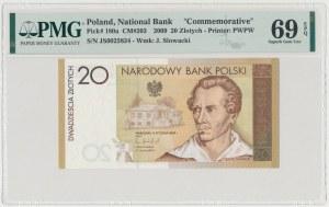 20 złotych 2009 Juliusz Słowacki - JS 0025834