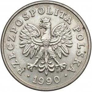 Destrukt 50 złotych 1990 - skrętka