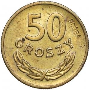 Próba MOSIĄDZ 50 groszy 1957