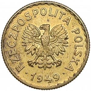 Próba MOSIĄDZ 1 złoty 1949
