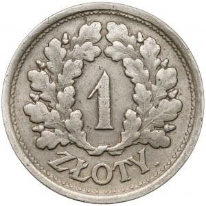 Próba NIKIEL 1 złoty 1928 - bez PRÓBA - wieniec dębowy - b.rzadka